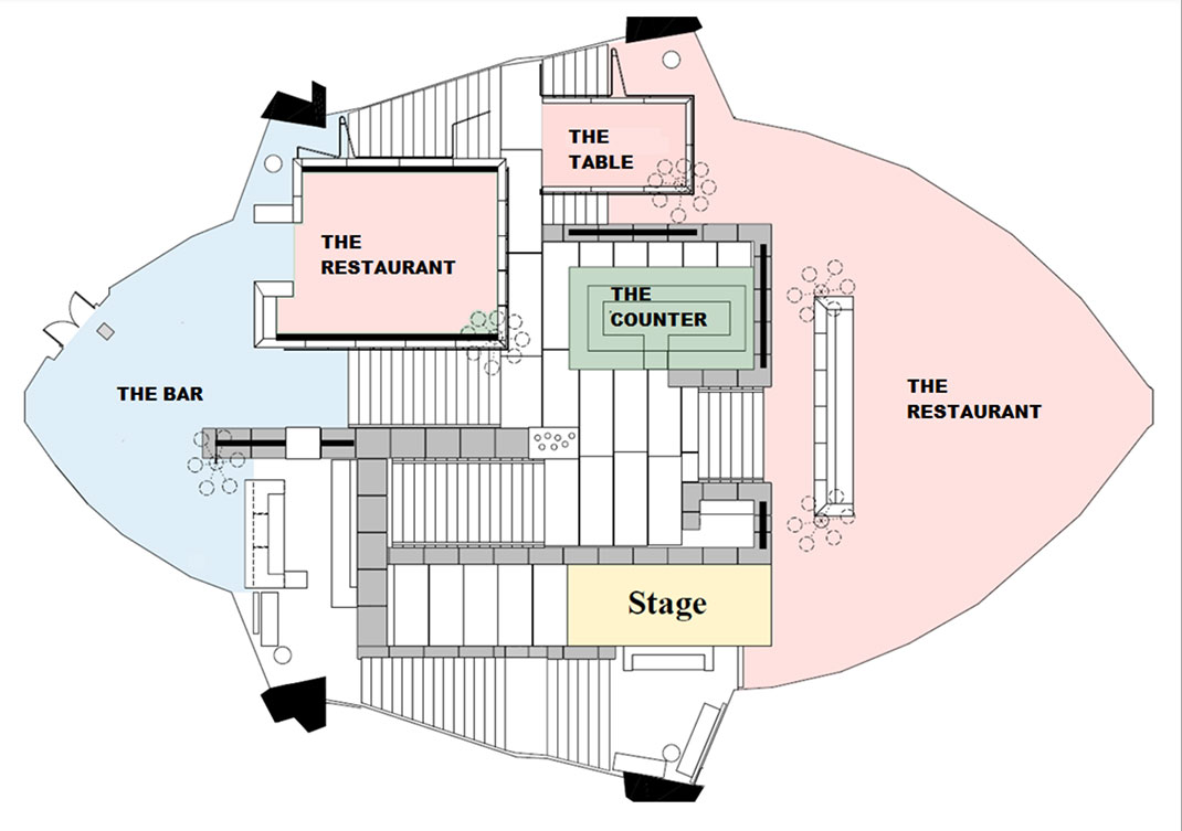 Bennelong Seating Plan
